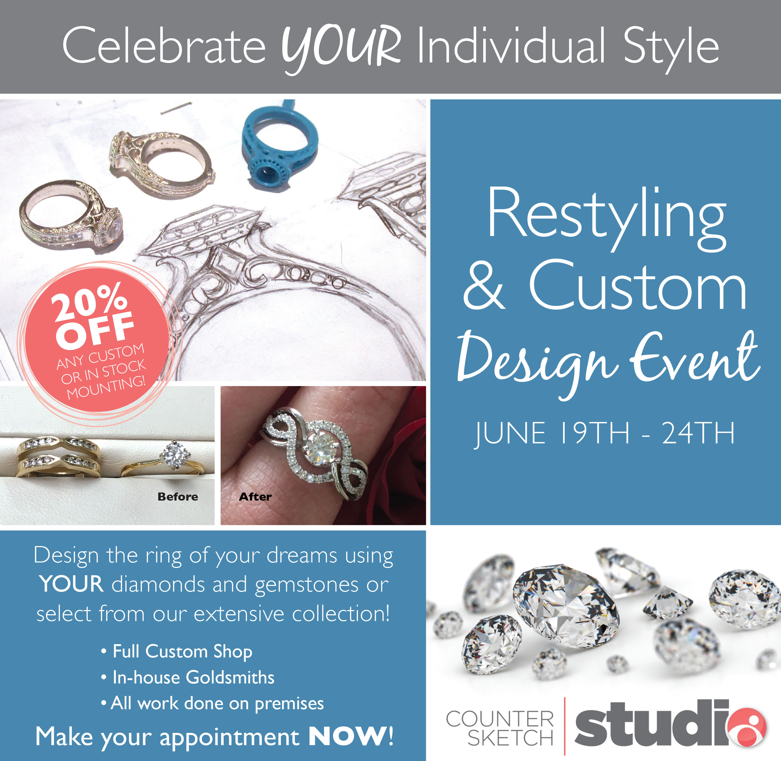 Restyling and Custom event